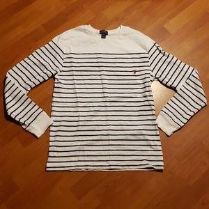 Polo striped long sleeve shirt